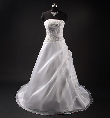 Rebecca ; Strapless Wedding Dresses