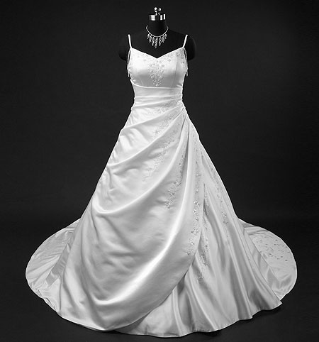 Charlotte ; White Bridal Gown, Wedding Dress