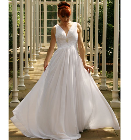 Goddess ; Halter Beach Bridal Gown, Wedding Dress | Celebrity Pictures ...