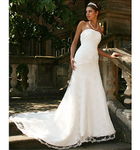 Rianna ; Strapless Wedding Dress, Bridal Gown