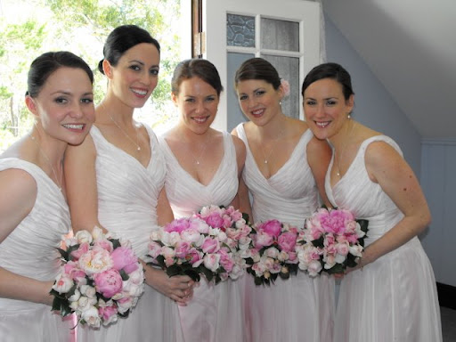 Halter Bridesmaid Dresses Photo