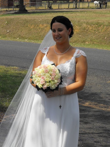 Plus Size Shinny Bridal Gown 2010