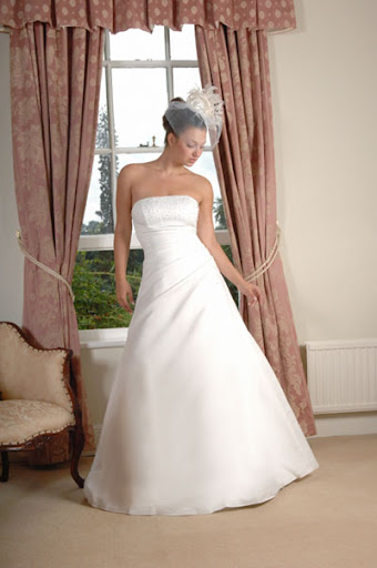 1272 wedding dress/bridal gown-strapless style