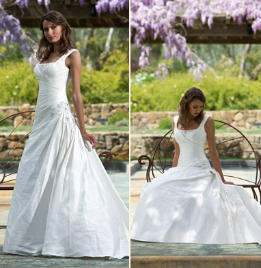 One stop wedding white wedding dresses for Busty brides wedding dresses