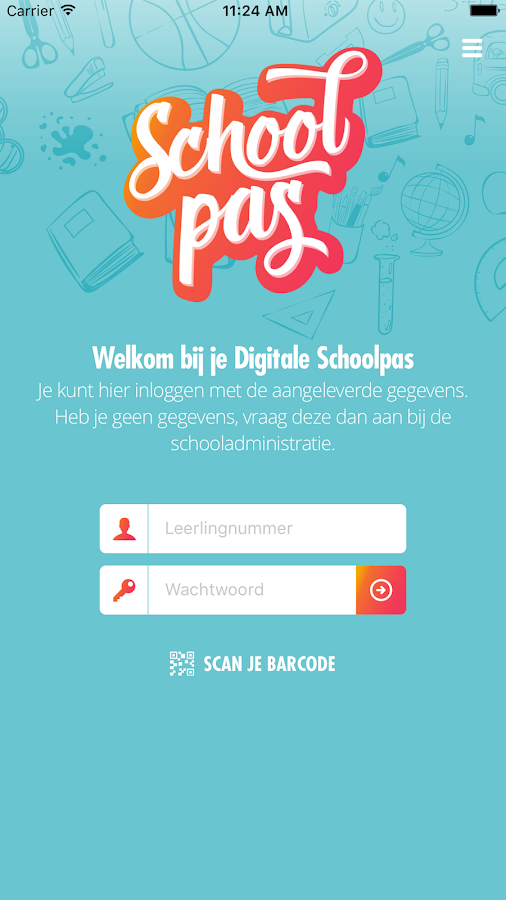 Digitale Schoolpas- screenshot