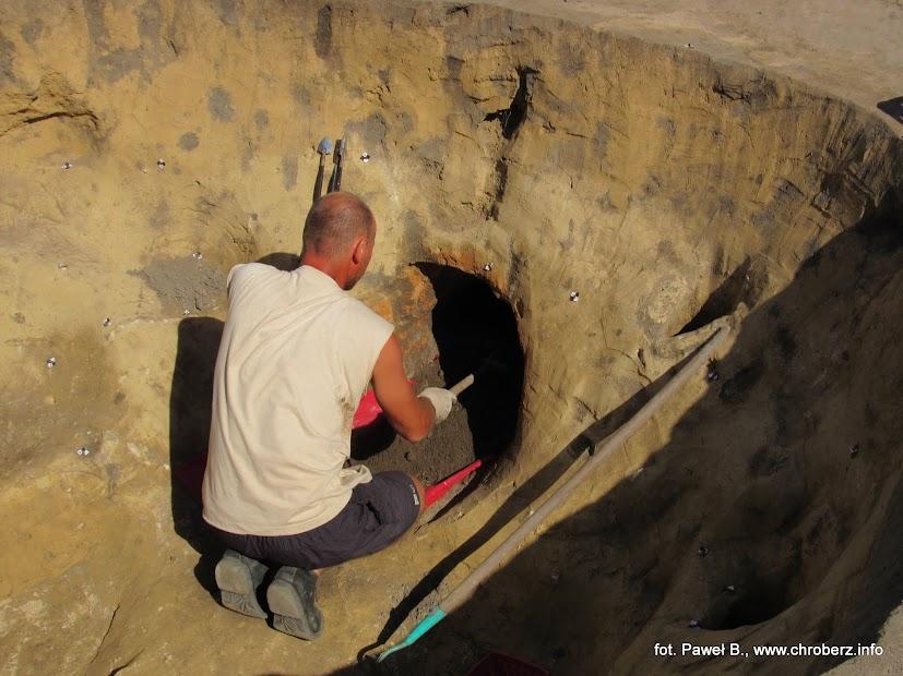 Badania wPełczyskach archeologia