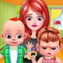 Twin Baby Care Nanny Nursery icon
