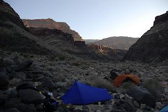 Photo: Pile o' rocks camp