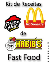 Kit de Receitas de Fast Food