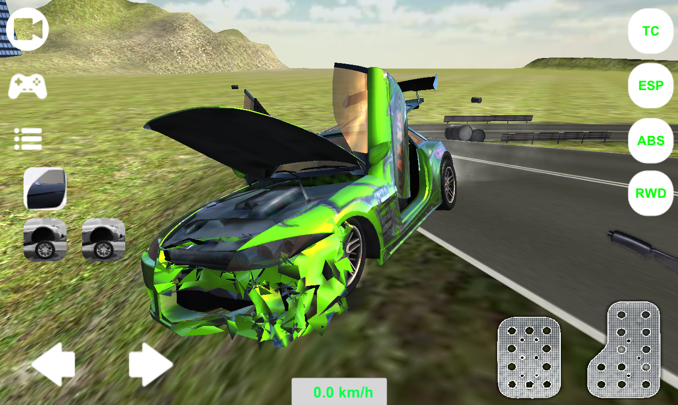extreme car simulator 2016 android apps on google play. Black Bedroom Furniture Sets. Home Design Ideas
