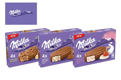 Bild für Cashback-Angebot: Milka Ice Cream Multipackungen