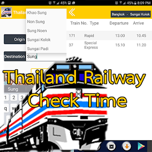 Thailand Railway Check Time