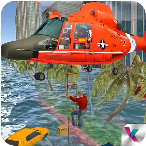 Florida Hurricane Helicopter Rescue