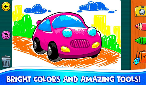ud83dude97 Learn Coloring & Drawing Car Games for Kids  ud83cudfa8 4.0 screenshots 7