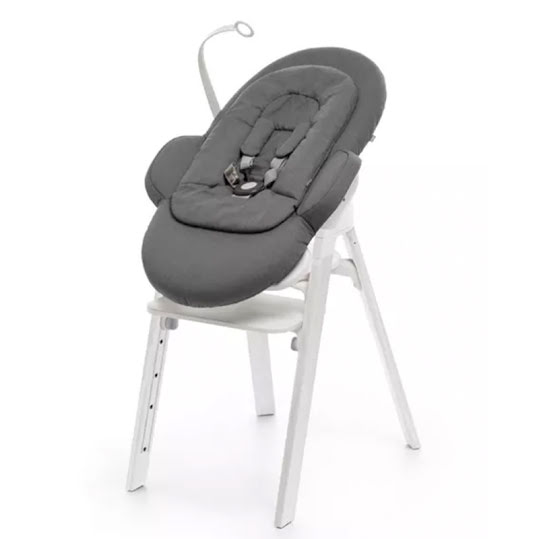 Stokke Steps Babysitter White Deep Grey
