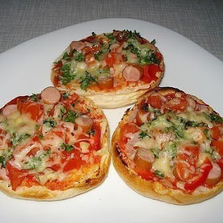 «Pizza» from rolls