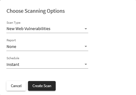 Scanning for new web vulnerabilities