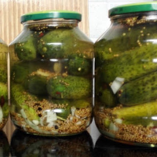 German Pickles No Canning.