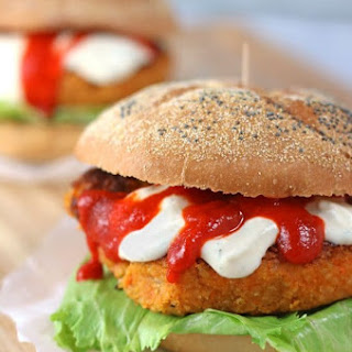 Sriracha Veggie Burgers.
