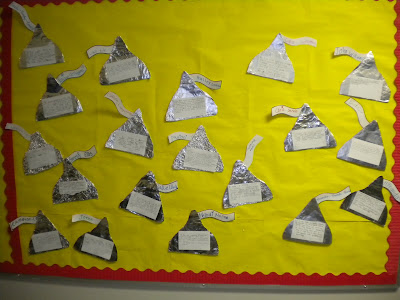 You can see that I havent added the title to the bulletin board yet...but you get the idea!