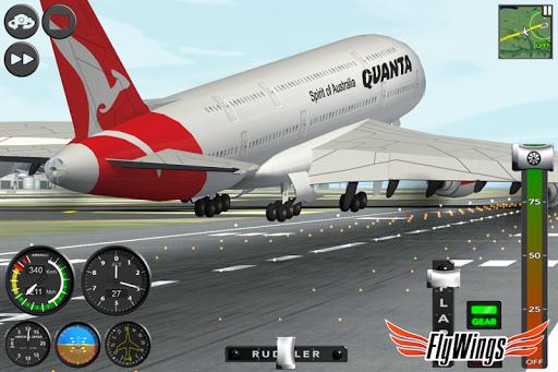 Flight Simulator 2015 Flywings - Paris and France apkpoly screenshots 8