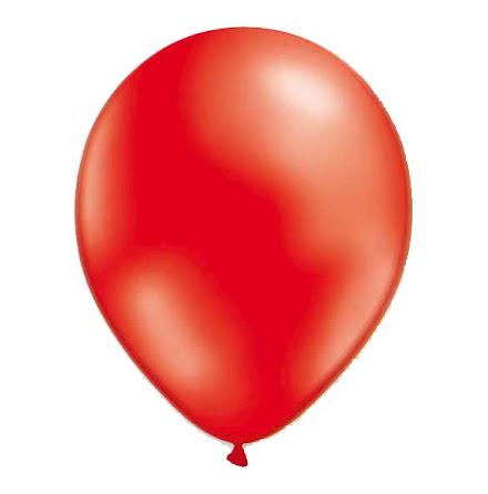 Ballonger - Röd metallic