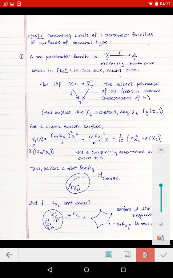 CatchUP - Lecture Notes Marker- screenshot