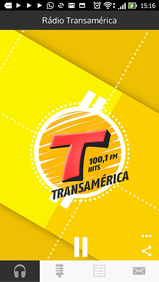 Rádio Transamérica Barretos- screenshot