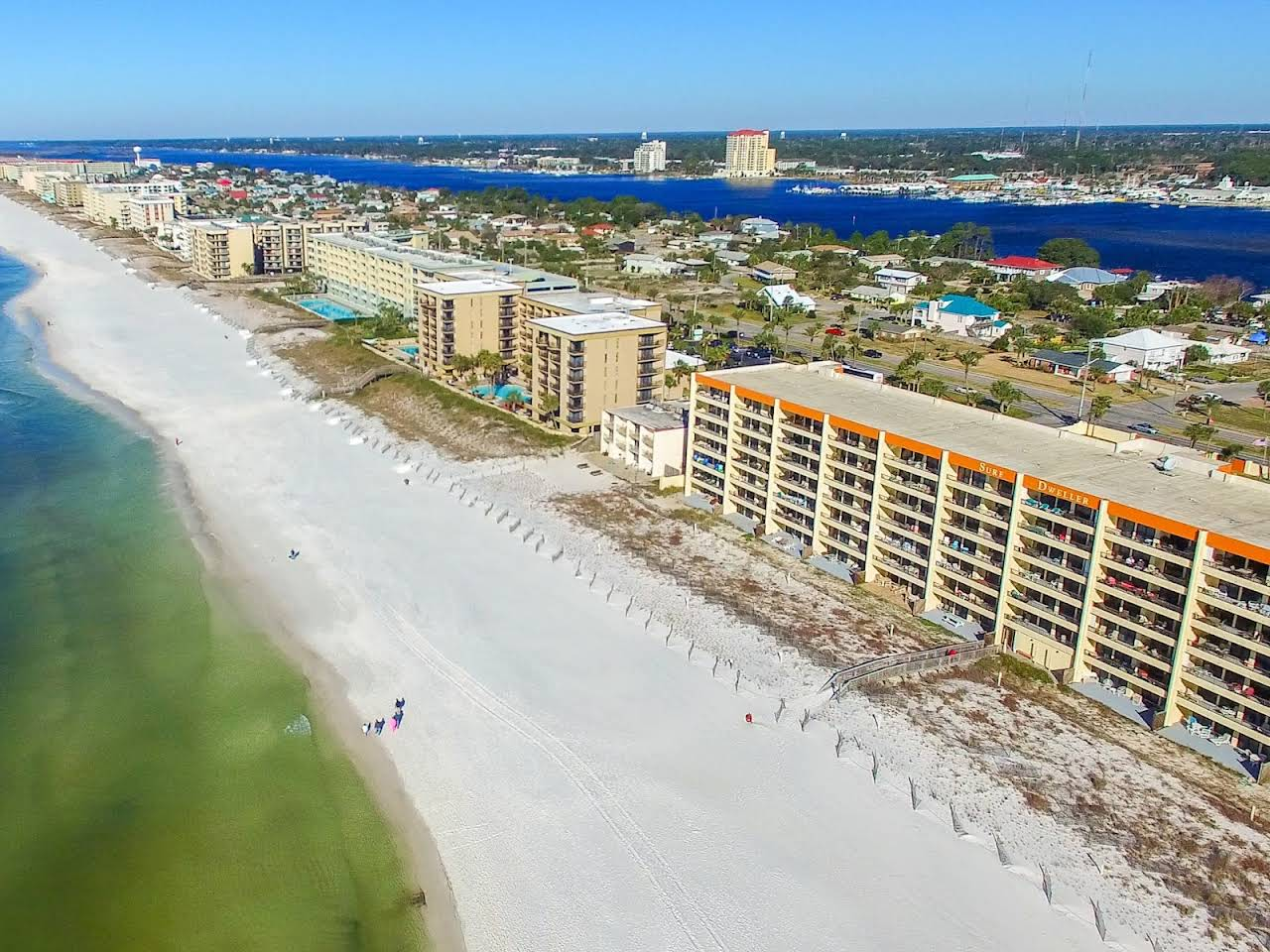 View of Panama City Beach Condos