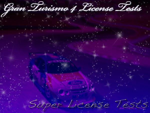 Gran Turismo 4 Super License