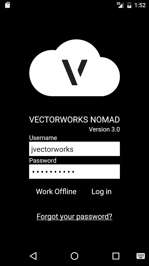 Vectorworks Nomad- screenshot