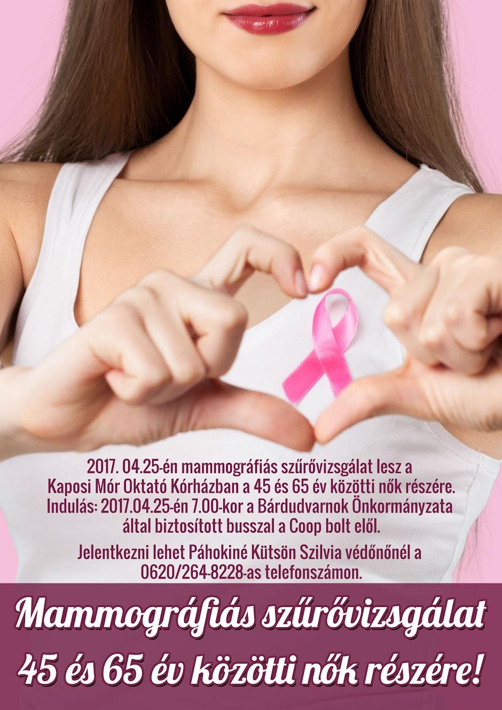 Mammográfiai szűrővizsgálat