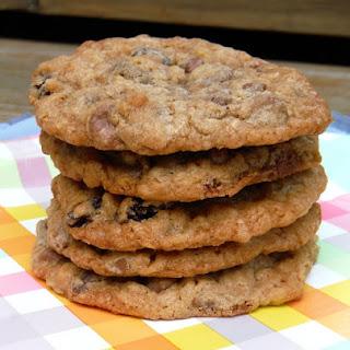 Milk Chocolate Oatmeal Raisin Cookies