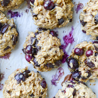 Blueberry Breakfast Cookies.