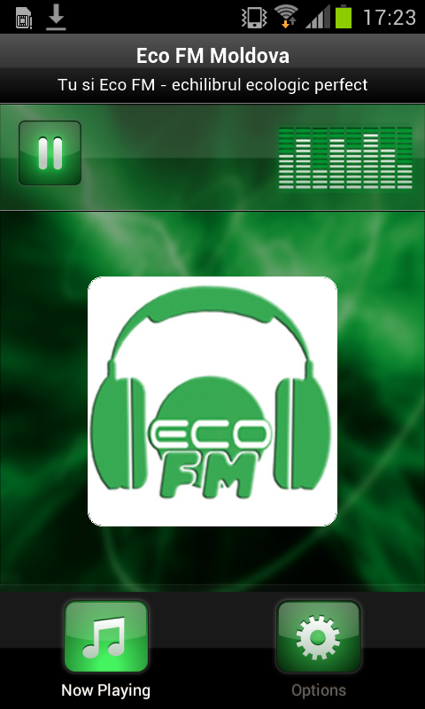 Eco FM Moldova- screenshot