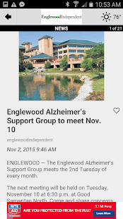 The Englewood Independent- screenshot thumbnail