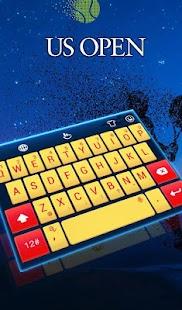US Open Keyboard Theme - náhled