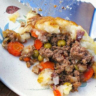 Gluten Free Shepherd's Pie.