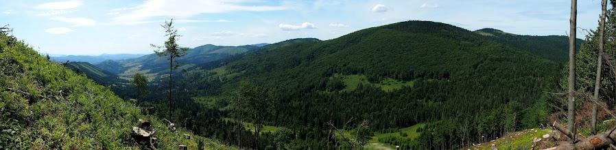 Photo: Na całej trasie od Glinne są zaledwie 3 okienka widokowe, tutaj ostatnie na Świtkowej.