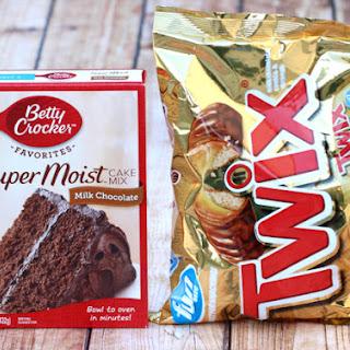 Easy Twix Cookies Recipe! {Just 4 Ingredients} Recipe