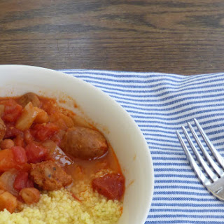 Slow Cooker Sausage and Bean Chilli.