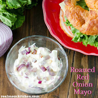 Roasted Red Onion Mayo.