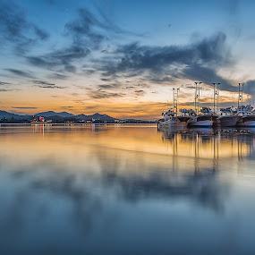 Late sunset by Davit Wee - Landscapes Sunsets & Sunrises