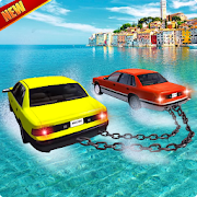 Floating Car: Water Surfer 3D