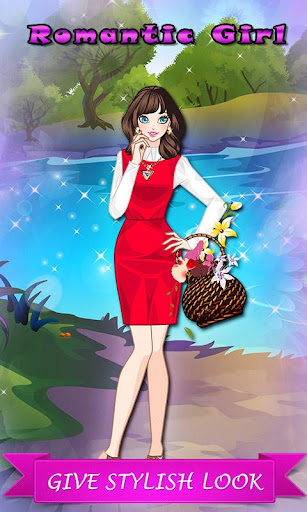 Romantic Girl: Makeover Game