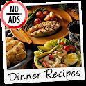 Dinner Recipes NoAds icon