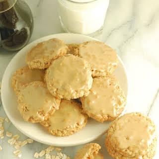 Maple Glazed Oatmeal Cookies.