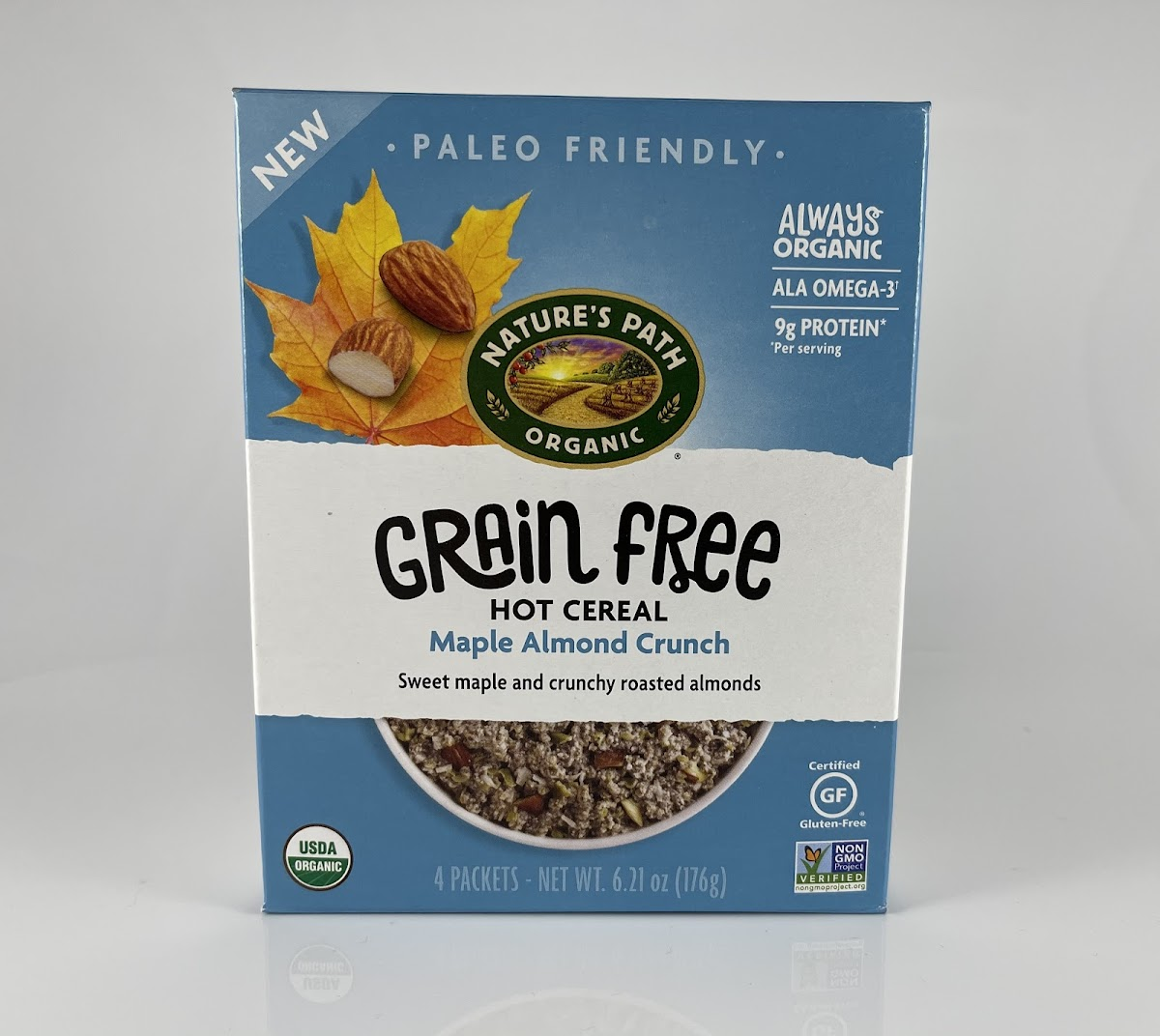 Maple Almond Crunch Grain Free Hot Cereal