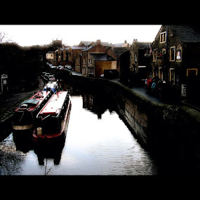 Canals by Ashley Humphrey - Instagram & Mobile Instagram ( england, bleak, scene, canal )