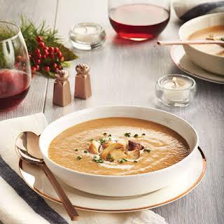 Velvety Mushroom Soup.